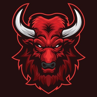 Ilustracja logo serious bull esport