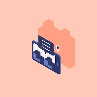 Ilustracja lokalizacji pin