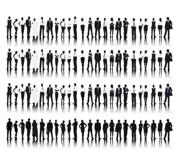 Ilustracja ludzie biznesu