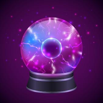 Ilustracja magicznej kuli