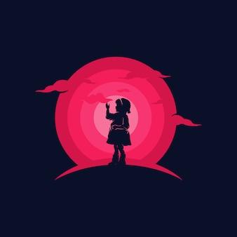Ilustracja marzenie dziecka