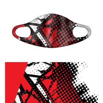 Ilustracja maska do nurkowania