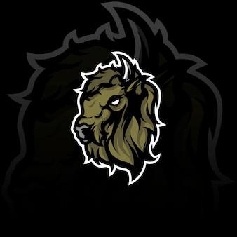 Ilustracja maskotka bawoła