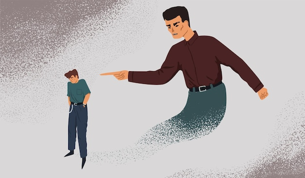 Ilustracja metafory wewnętrznej kontroli