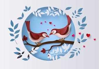 Ilustracja miłości i walentynki,