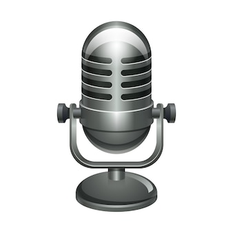 Ilustracja mikrofonu