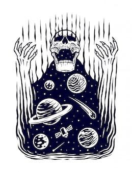 Ilustracja mocy wszechświata