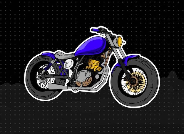 Ilustracja motocykl