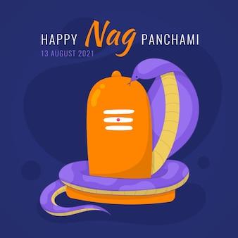 Ilustracja nag panchami