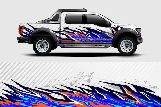 Ilustracja naklejek samochodów