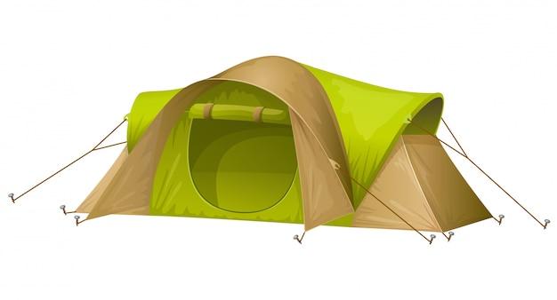 Ilustracja namiot turystyczny