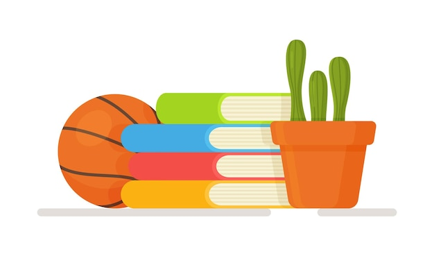 Ilustracja nauczania w domu. pojęcie freelancer, edukacja online