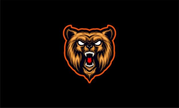 Ilustracja niedźwiedzia grizzly