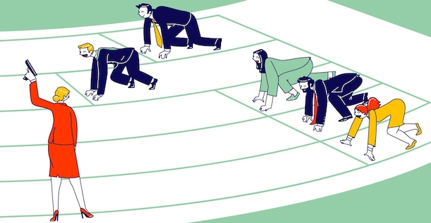 Ilustracja nieuczciwej konkurencji biznesowej