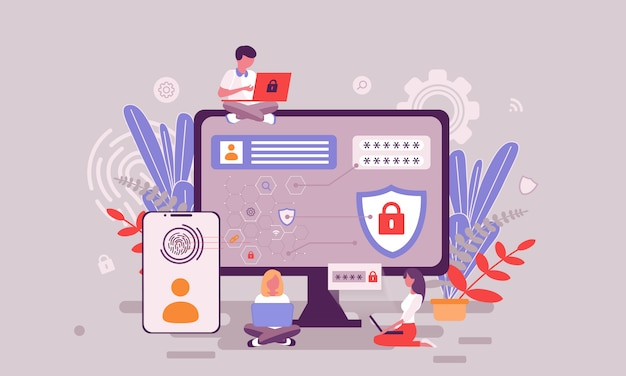 Ilustracja ochrony danych