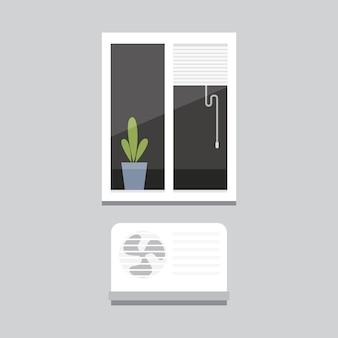 Ilustracja okna wewnętrznego