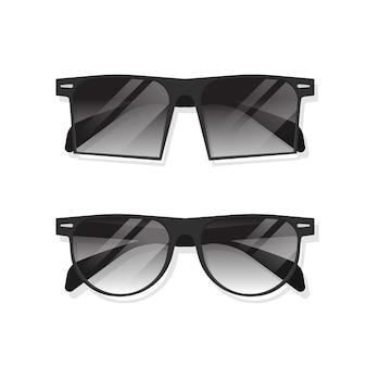 Ilustracja okulary przeciwsłoneczne