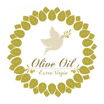 Ilustracja oliwy z oliwek