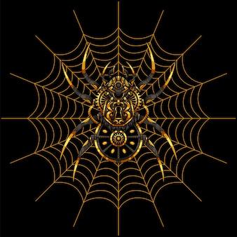 Ilustracja pająka