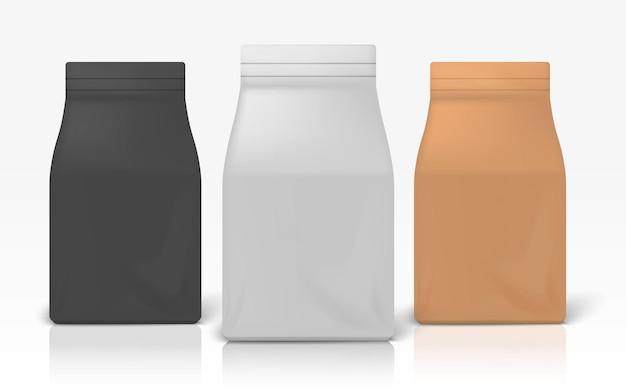 Ilustracja pakiet kawy