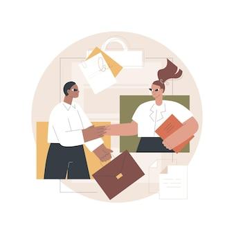 Ilustracja partnerstwa