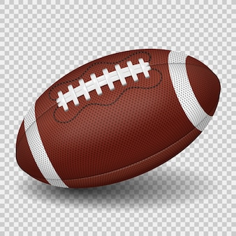 Ilustracja piłka futbolu amerykańskiego