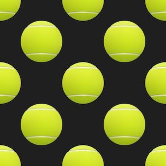 Ilustracja piłka tenisowa