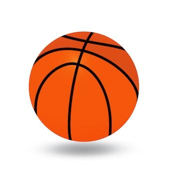 Ilustracja piłki do koszykówki