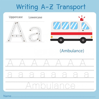 Ilustracja pisania transportu a
