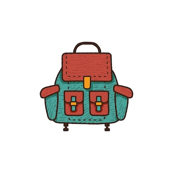 Ilustracja plecak