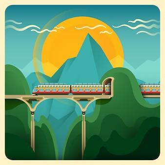Ilustracja pociągu