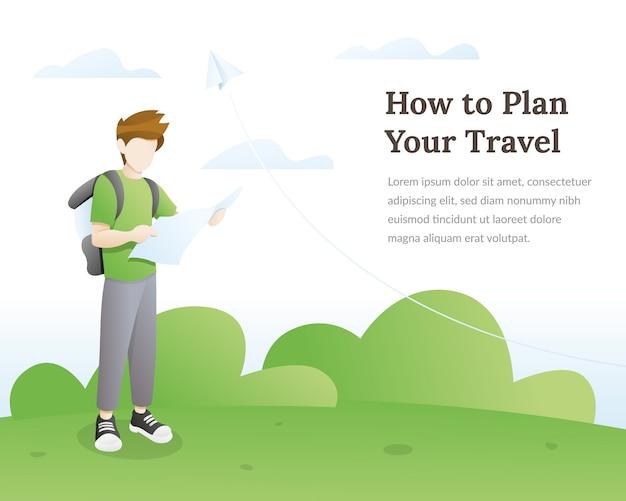 Ilustracja podróży