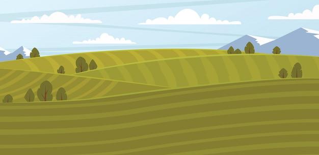 Ilustracja pola gospodarstwa