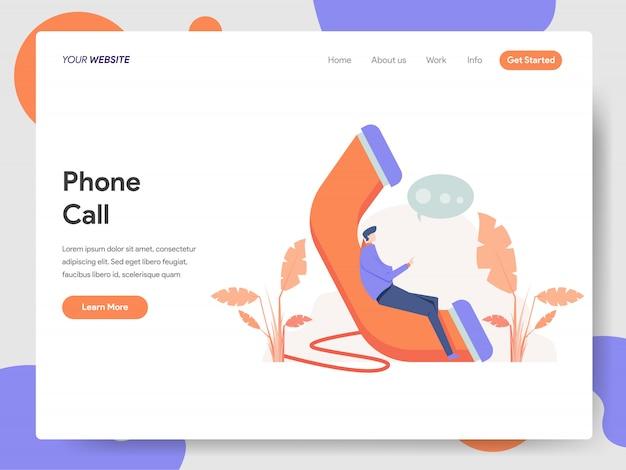 Ilustracja połączenia telefonicznego
