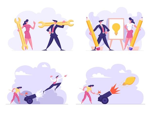 Ilustracja pomocy technicznej pomysł na biznes