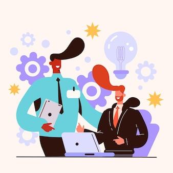 Ilustracja pracy stażowej