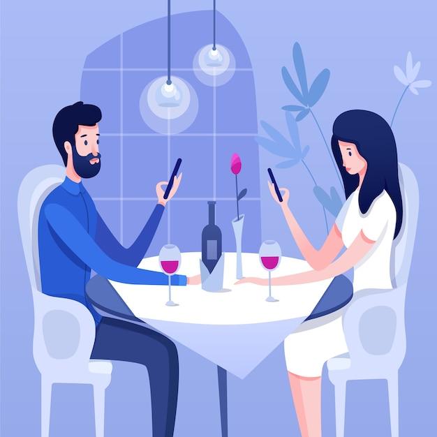 Ilustracja problemu relacji