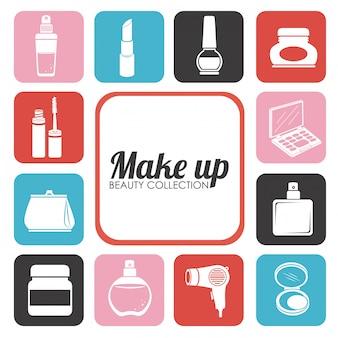 Ilustracja projekt kosmetyki