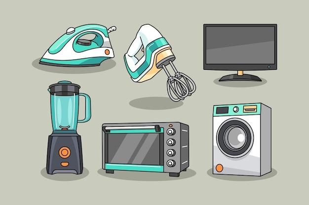 Ilustracja projektowania narzędzi elektroniki domowej