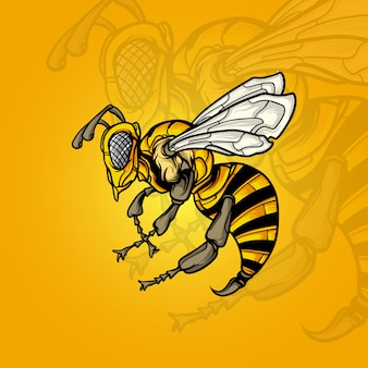 Ilustracja pszczół