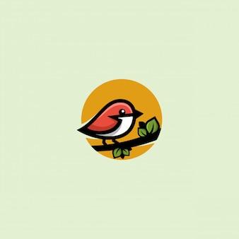 Ilustracja ptak