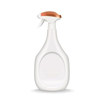Ilustracja realistyczne butelki z rozpylaczem