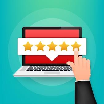 Ilustracja recenzji klienta
