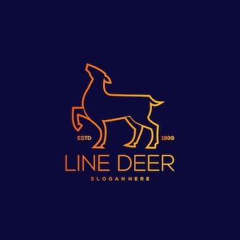 Ilustracja rocznika linii jelenia