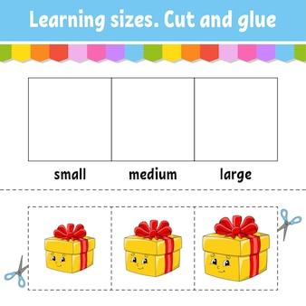 Ilustracja rozmiarów uczenia się