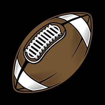 Ilustracja rugby ball