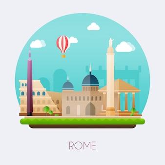 Ilustracja rzymu
