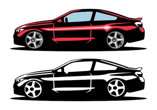Ilustracja samochodu samochodowego