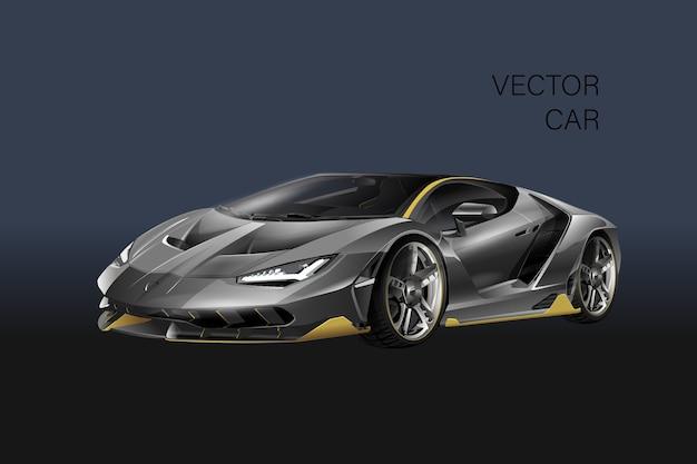 Ilustracja samochodu sportowego