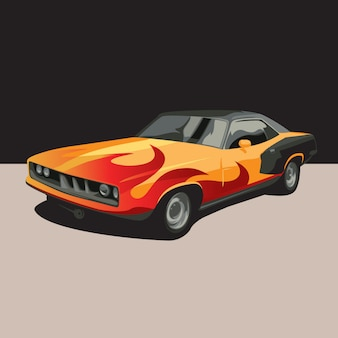 Ilustracja samochodu